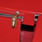 Detail bevesiging rugleuning