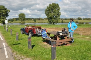 Picknick langs de Maas
